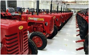 Mahindra's November tractor sales up by 47 per cent due to festival demand