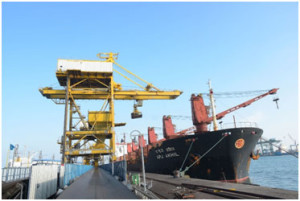 V.O.CHIDAMBARANAR PORT CROSSED PREVIOUS FINANCIAL YEARS TRAFFIC OF 32.41 MILLION TONNES