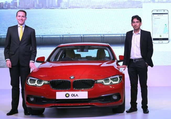 BMW India and Ola Redefine the Future of On-demand Luxury