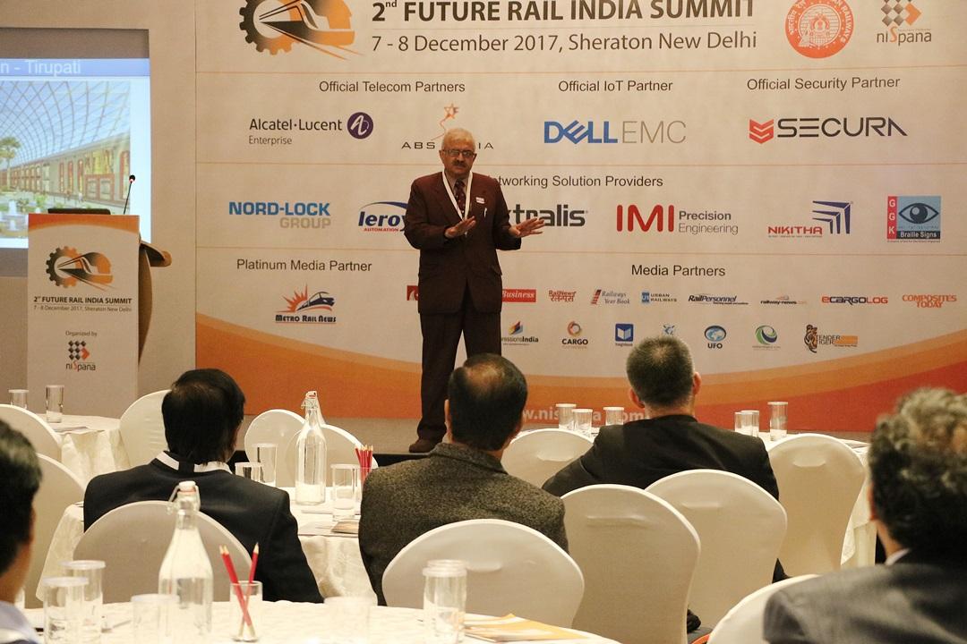 Future Rail India Summit 2017 New Delhi | Ecargolog - Asia's