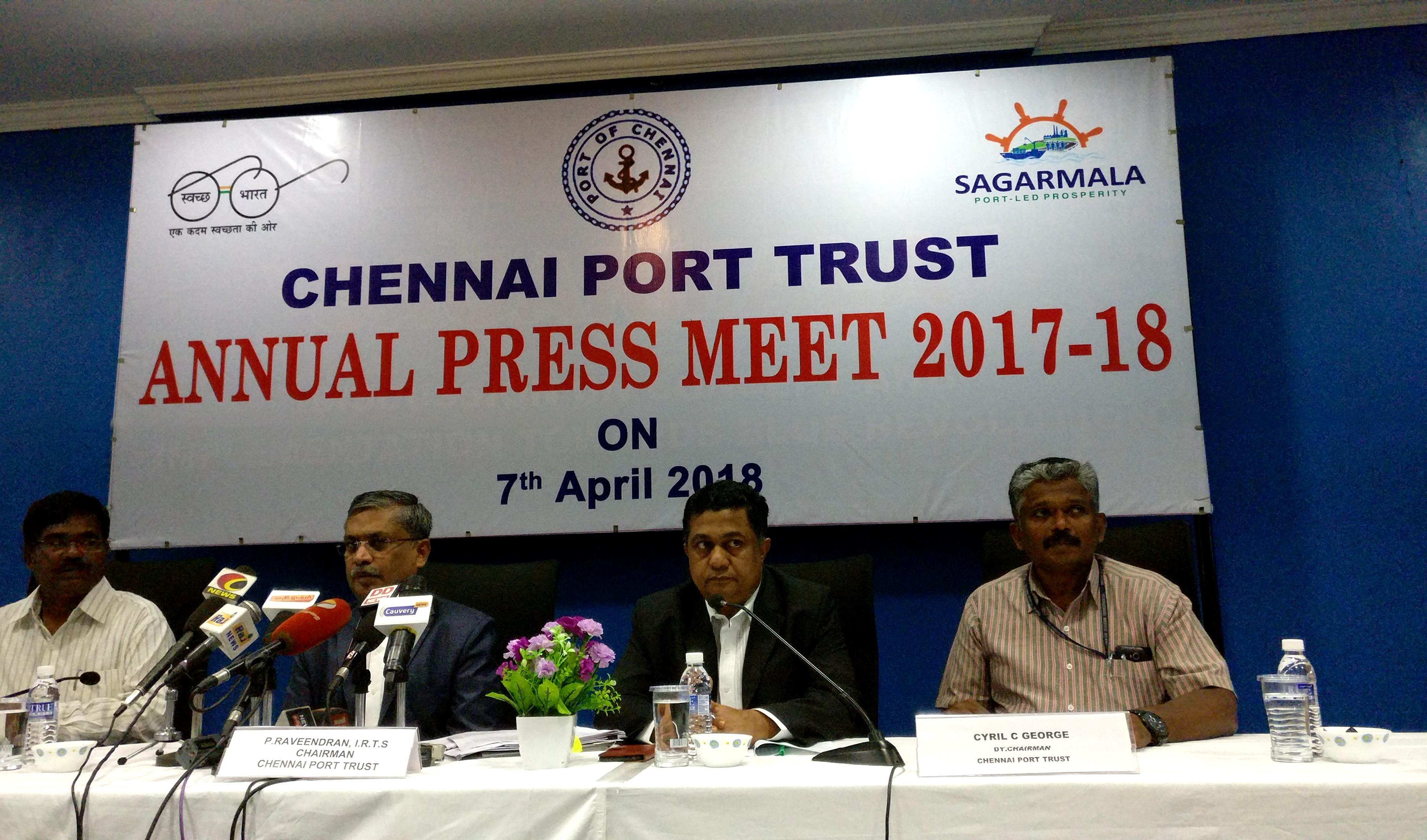 Chennai Port Trust Annual Meet 2017-18 | Ecargolog - Asia's