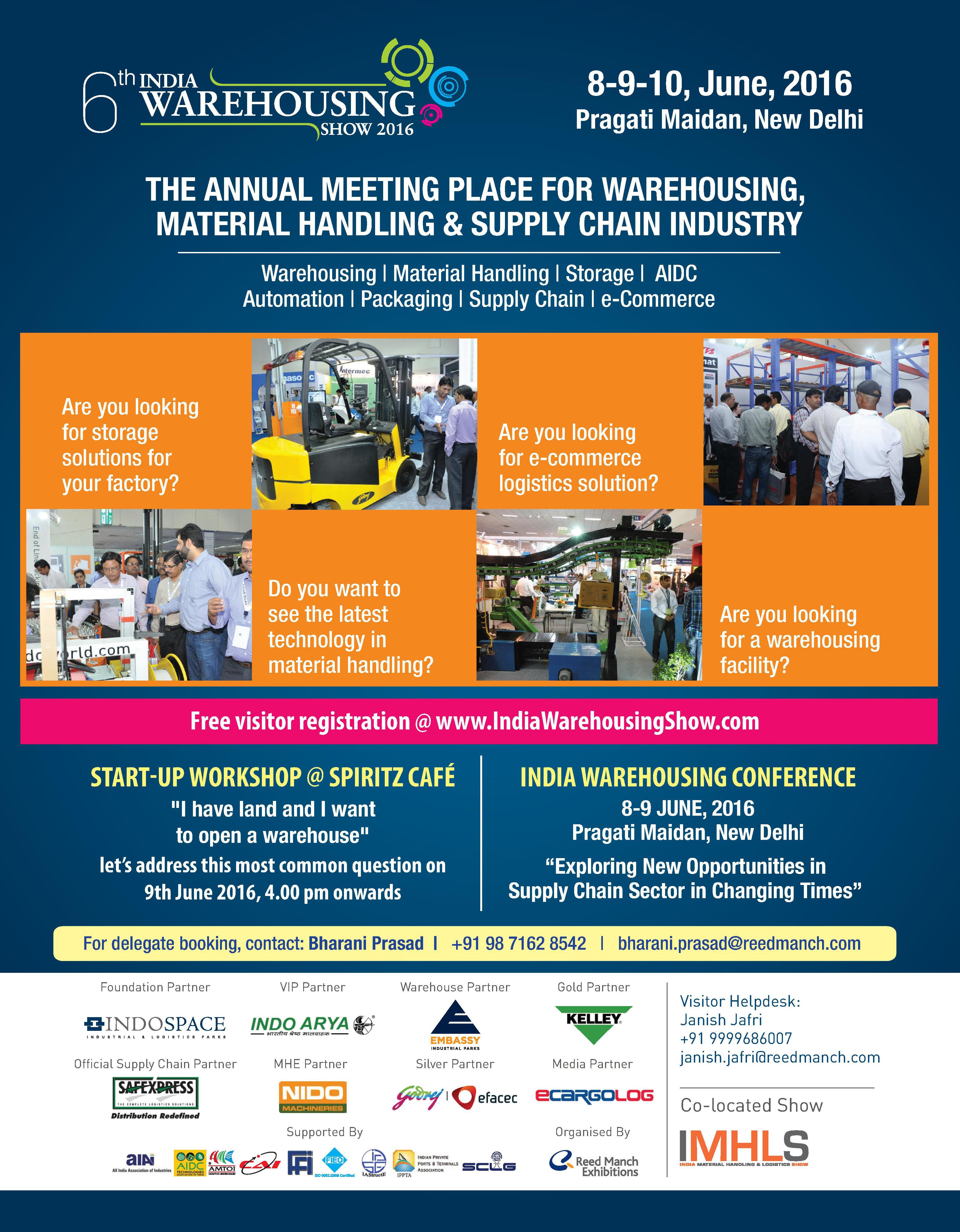 6th India Warehousing Show 2016