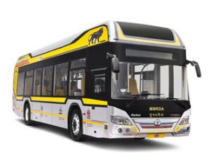 elecitric bus tata